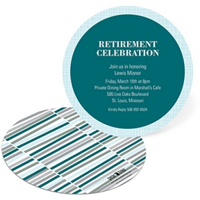Circular Celebrations -- Retirement Party Invites
