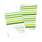 I Do Stripes -- Striped Wedding Invitations