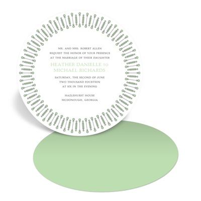 Symbolic Circles -- Wedding Invitations