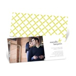 Patterned Perfection -- Wedding Invites