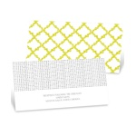 Patterned Perfection -- Reception Cards