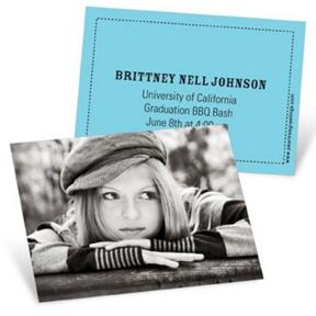 Trendy Times -- Mini Graduation Announcements