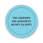 Trendy Times -- Personal Address Labels