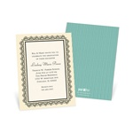 Lovely Lace -- Senior Graduation Invitations