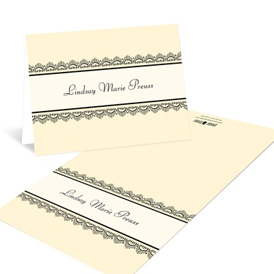 Lovely Lace Thank You Notes
