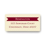 Ribbon Banner -- Classic Address Labels