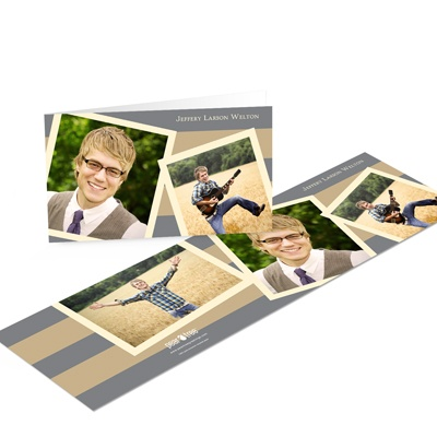 Photo Storybook Graduation Thank You Cards