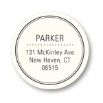 Top of the Class -- Round Address Labels