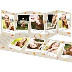 Confetti Snapshots -- Graduation Announcements