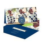 Wood Grain Graduate -- Graduation Photo Announcements