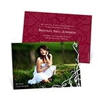 Senior Swirls -- College Graduation Invitations