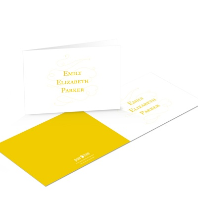 Simply Written Graduation Thank You Cards
