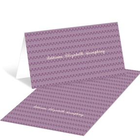 Scalloped Border -- Graduation Thank You Cards
