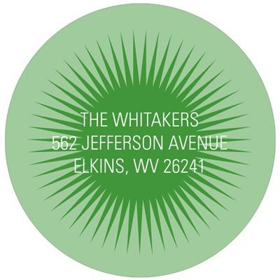Mesmerizing Circle Graduation Address Labels
