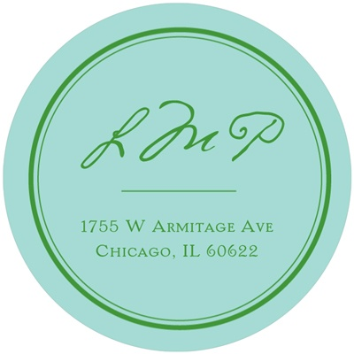 Celebrated Elegance -- Calligraphy Address Labels