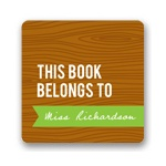 Wood Grain Claim -- Book Plates