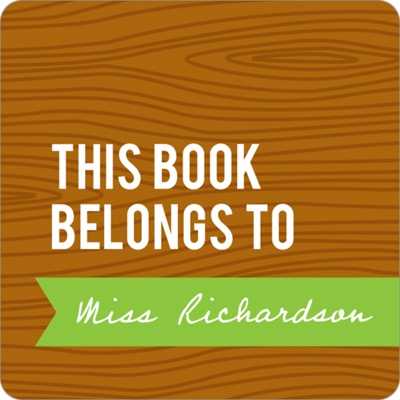 Wood Grain Claim Teacher Gifts