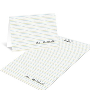 Stay in the Lines -- Teacher Stationery