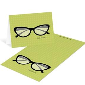 Spec-tacular Mini Note Cards -- Teacher Stationery