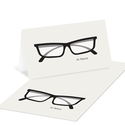 Spectacle Display Vintage Stationery