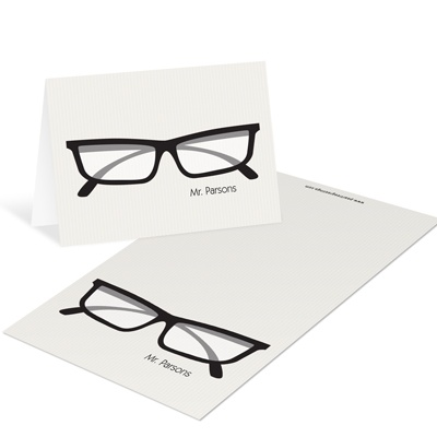 Spec-tacular For Him Mini Note Cards Teacher Stationery