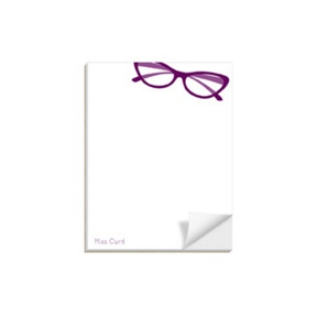 Spectacle Display -- Custom Notepads