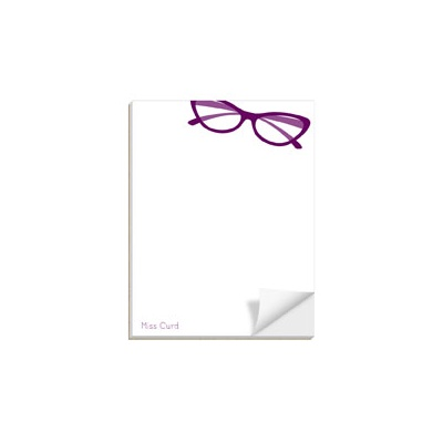 Spectacle Display Custom Notepads
