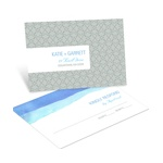 Vivid Blue Watercolor -- RSVP Postcards