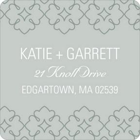 Swirling Details -- Wedding Return Address Labels