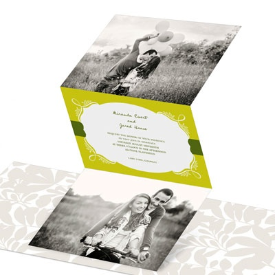 Enamored With Elegance Wedding Invitations