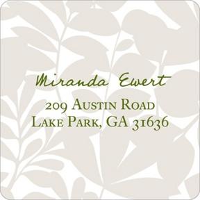 Enamored with Elegance --  Wedding Address Labels