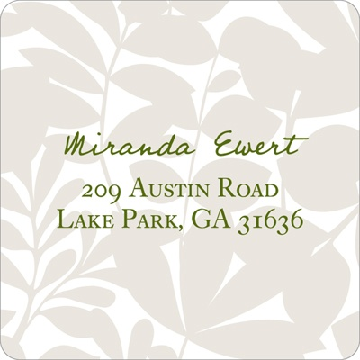 Enamored with Elegance  Wedding Address Labels
