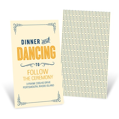 Happily Ever Headlines Reception Cards