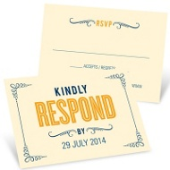 Happily Ever Headlines Unique Response Cards
