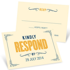 Happily Ever Headlines -- Unique Response Cards