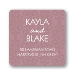 Fairy Tale Design -- Damask Address Labels
