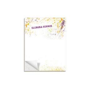 Splashed Paint -- Custom Notepads