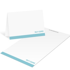 Diagonal Depth -- Mini Note Cards