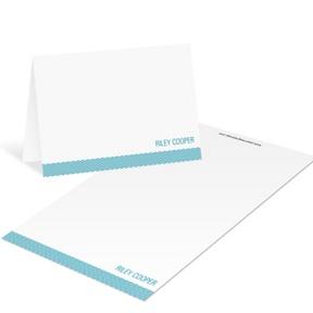Diagonal Depth -- Mini Note Cards