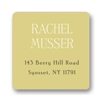 Simple Details -- Personal Address Labels