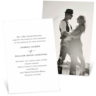 Timeless Ever After Wedding Invitations