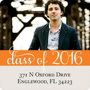 Class of Style -- Graduation Address Labels