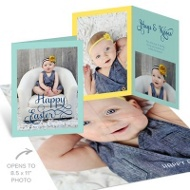 Fresh Faced Poster Easter Photo Cards