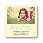 Photo Corner Display -- Easter Address Labels