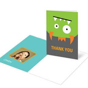 Monster Bash -- Monster Thank You Cards