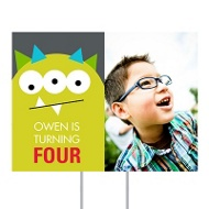 Monster Bash Yard Sign Kids Party Decorations