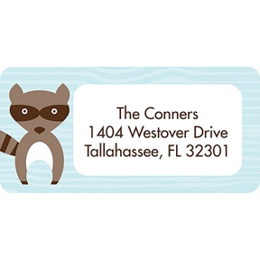 Nesting Outdoors -- Baby Address Labels
