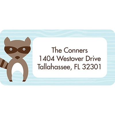 Nesting Outdoors -- Baby Shower Return Address Labels