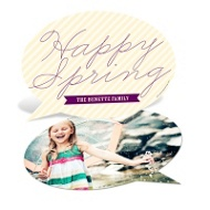 Talking Spring Happy Spring Cards