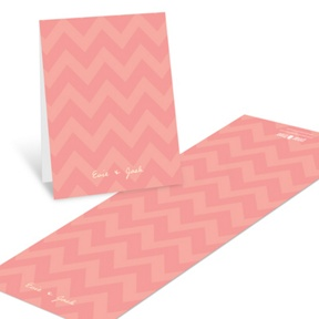 Sweet Chevron Dreams -- Baby Shower Thank You Cards